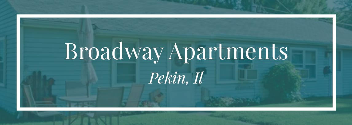 Broadway Apartments, Pekin, IL