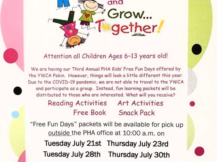 PHA Kids Free Fun Days